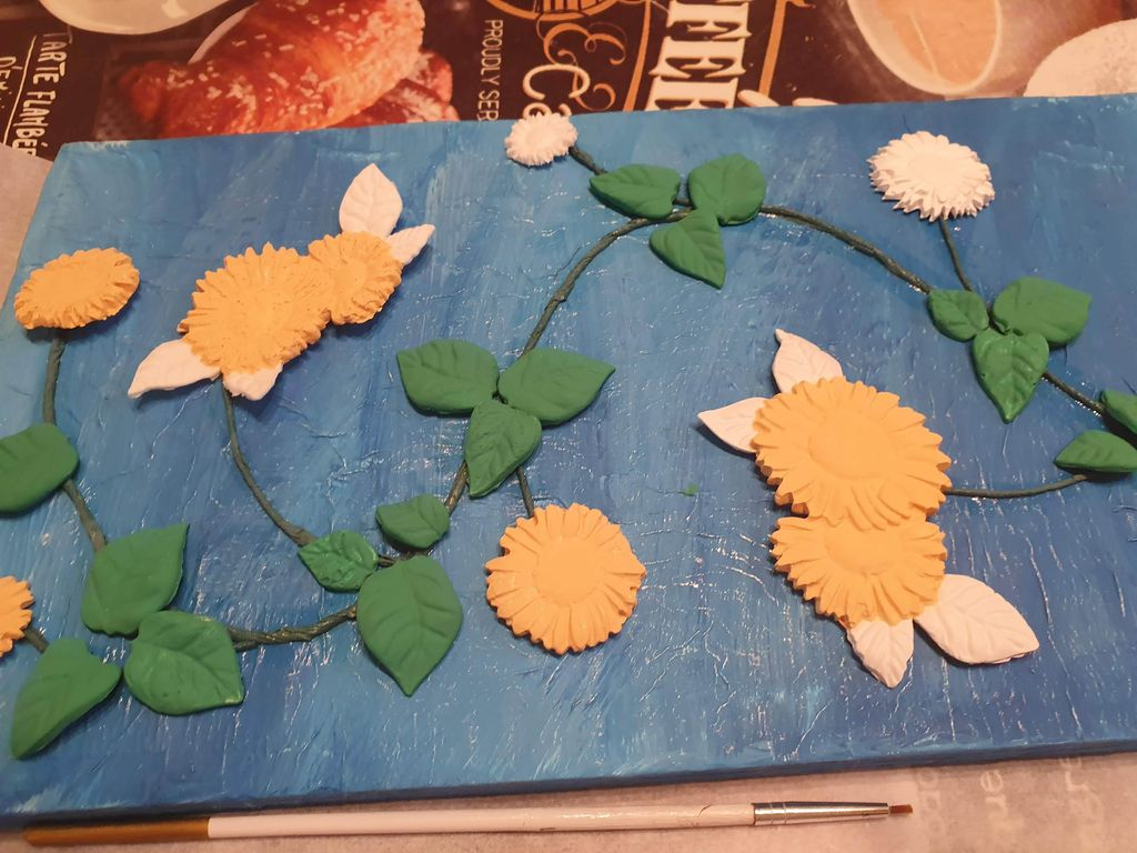 Picture of Paint the Leaves and Flowers