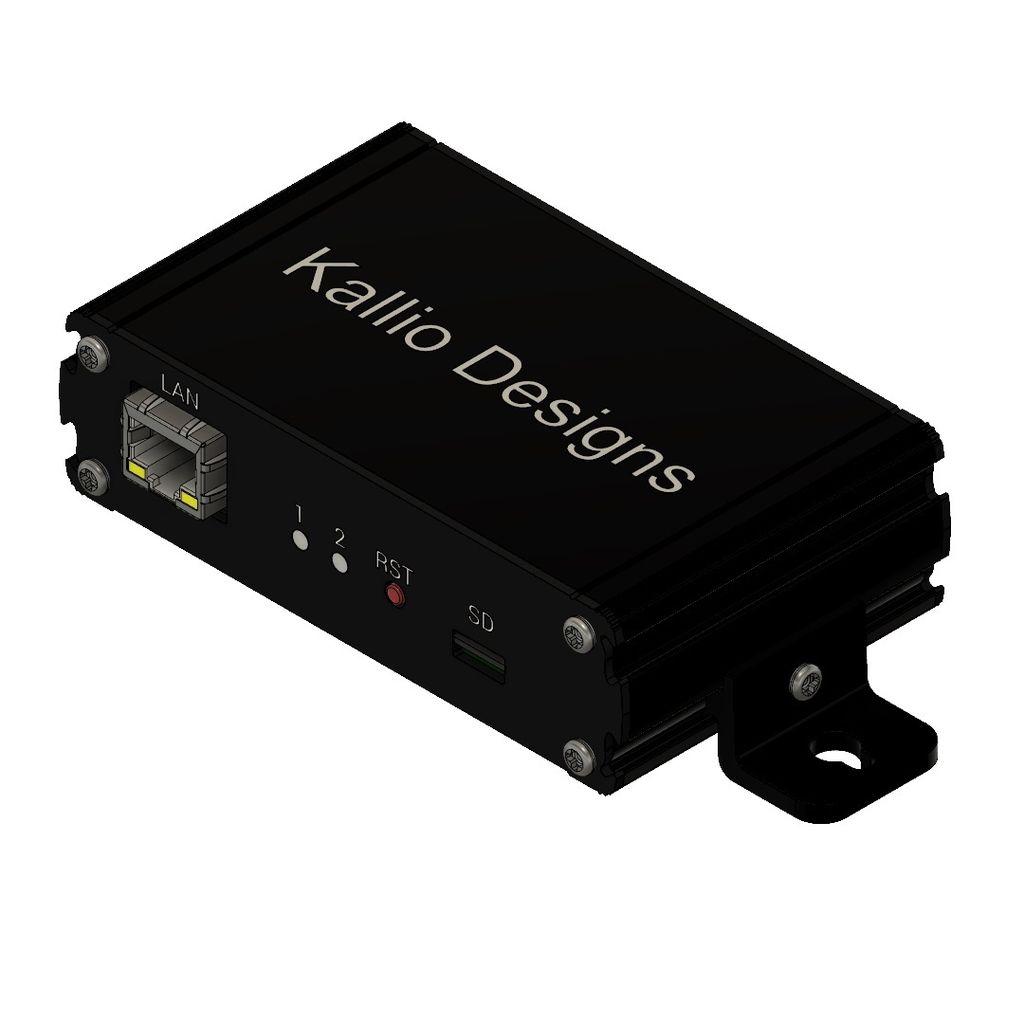 Picture of MCP23017 GPIO Control Via Ethernet