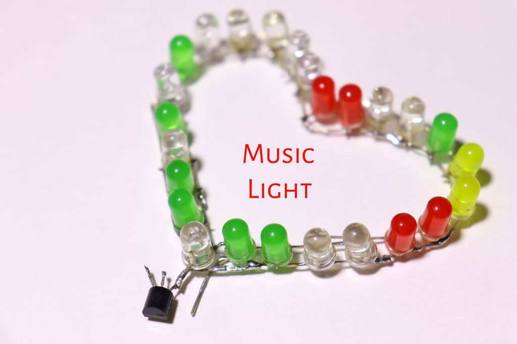 Picture of Heart Music Reactive Light