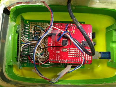 Musical Shield and Arduino Mega