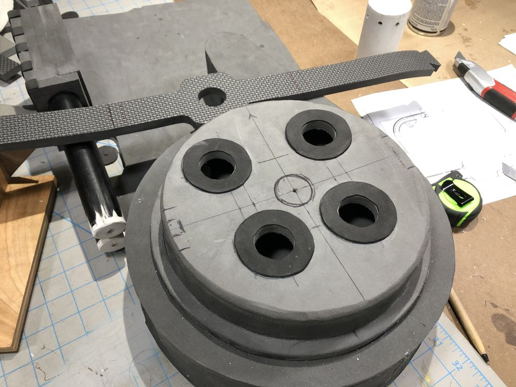 Picture of Cyclotron & Spacer Fabrication