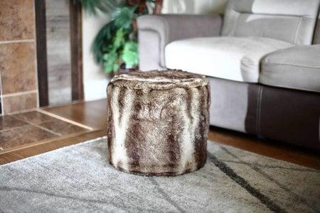 How to Make DIY Ottoman Pouf