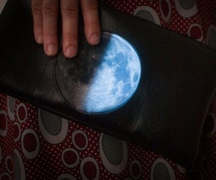 Glowing Moon Phase Clutch