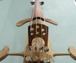 空心富力实践电器大提琴