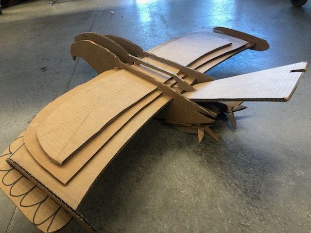 Picture of Cardboard Bird