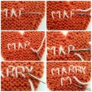 "Embroider ""Marry Me"""