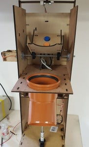 Photos of the Automatic Waste Sorting Machine