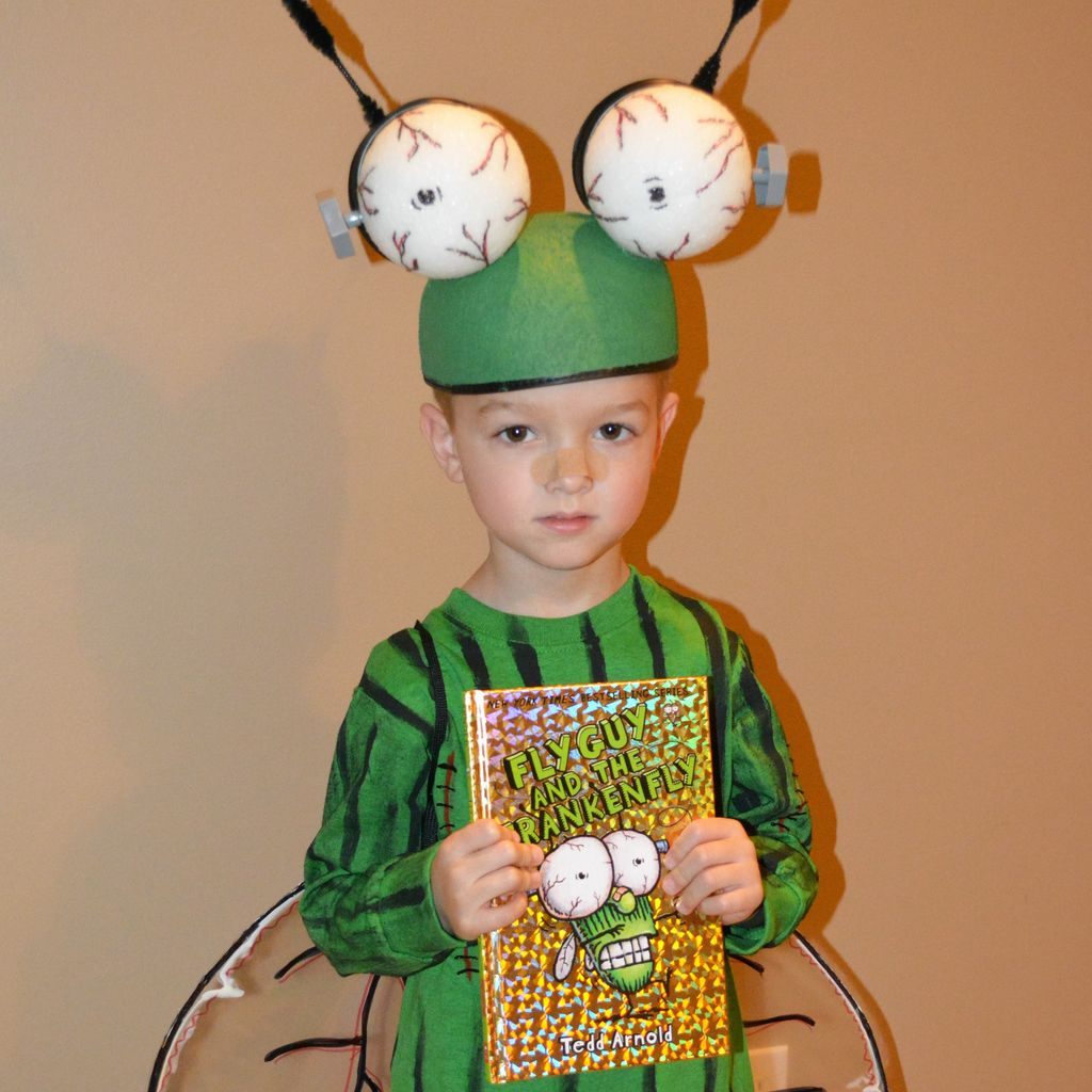 Picture of Easy 'Fly Guy' Book Series Kids Halloween Costume - Frankenfly