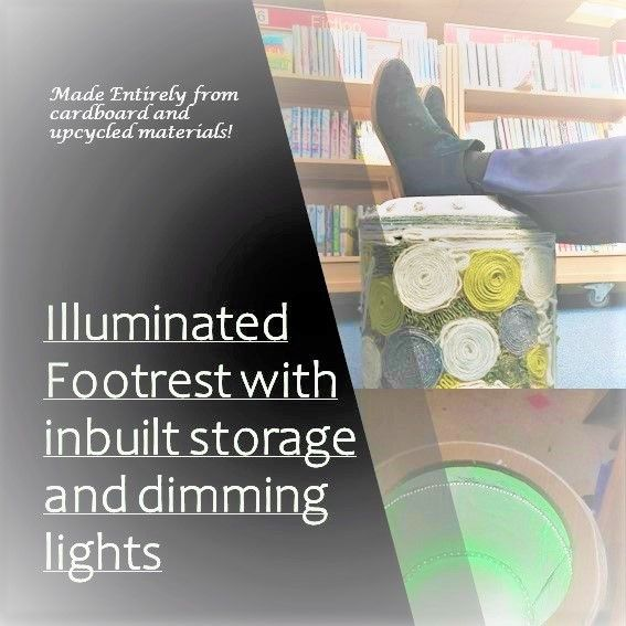 Picture of Illuminated Footrest With Inbuilt Storage