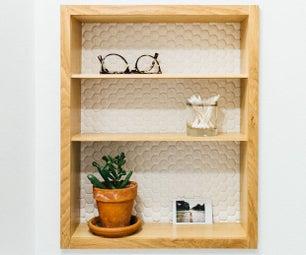 Building Recessed Bathroom Wall Shelves