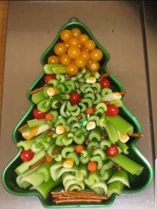 Christmas Tree Snack Tray