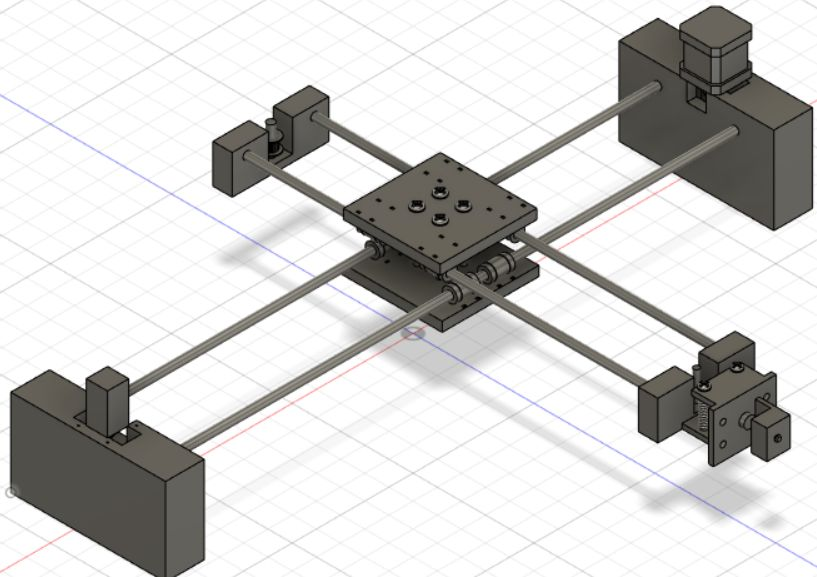Picture of  XY Axis Assembly Structure