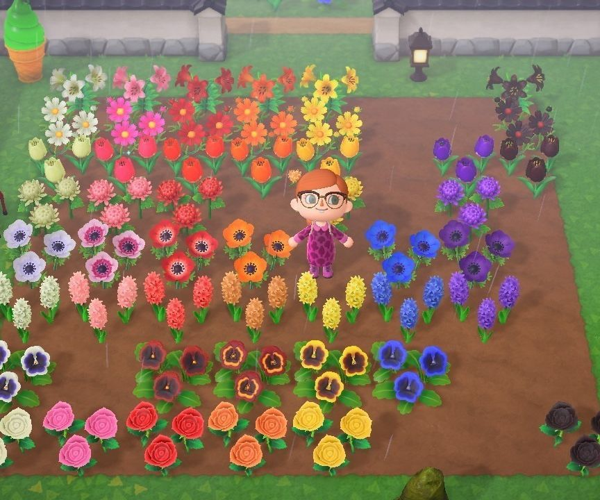 How To Breed All Hybrid Flowers In Animal Crossing New