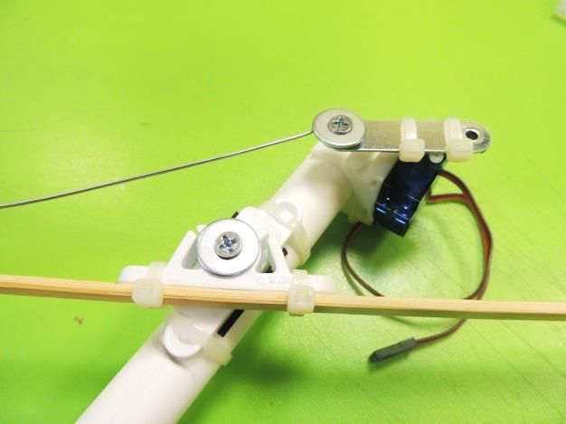 Picture of Connecting the Arm to the Servo