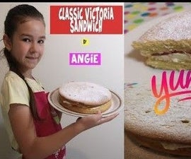 How to Make Classic Victoria Sandwich