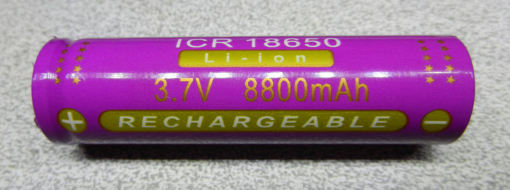 Picture of Figure 13: an 8,800mA Rated Lithium-ion Battery, Real or Fake?!