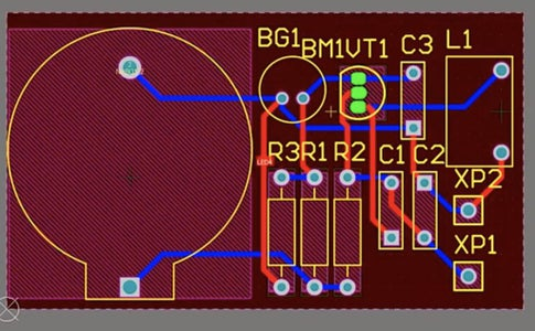 Let's Start As Always With the Design of the Printed Circuit Board.
