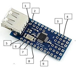 Connect the USB Mini Shield With Your Arduino Nano