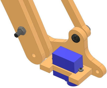 Picture of Making the Rotational Gripper Assembly