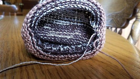 Kitchener Stitch the Toe Closed