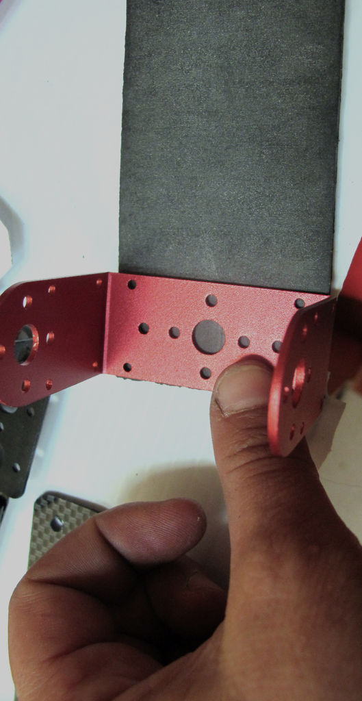 Picture of Prepare the Frame: Attach the C-brackets