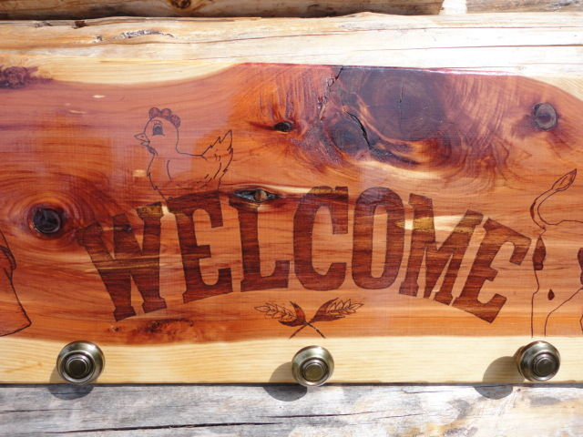 Picture of Farm Welcome Sign