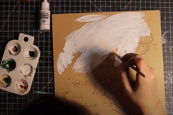 Prepare the Acrylic Layer