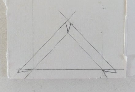 Cut Two Triangles for the Attic