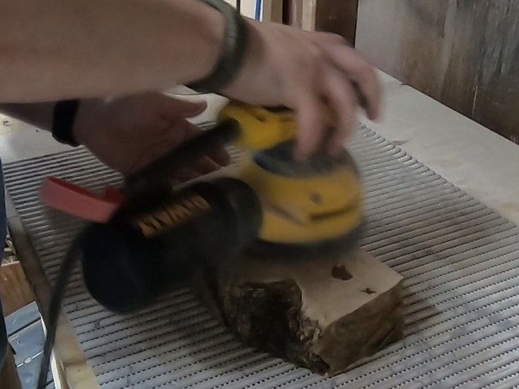 Picture of Flattening and Smoothing the Flat Sides