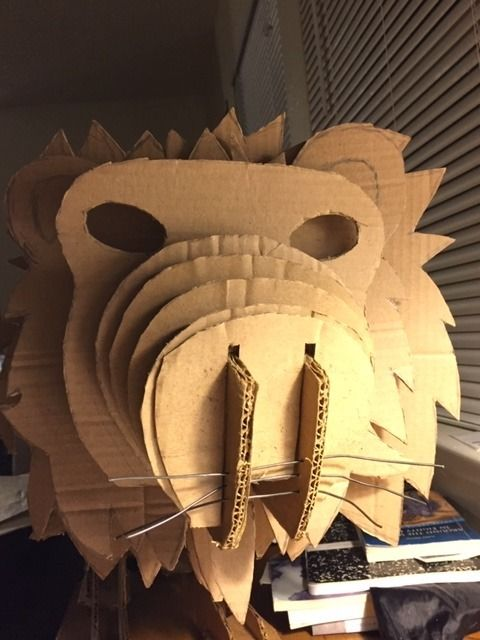 Picture of Making the Lion's Face