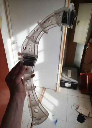 Picture of Making the Accrilic Parts