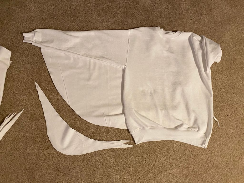 Picture of Cut Out Fabric Wings