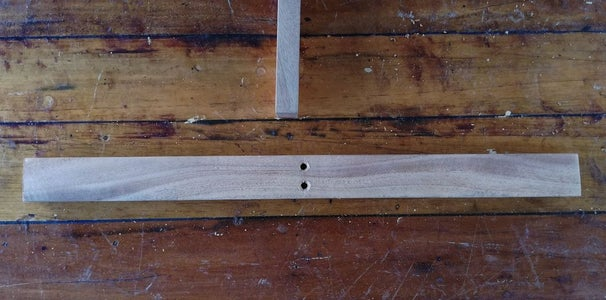 Screw to the Structure Created a Horizontal Leg
