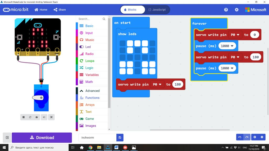 Picture of Day 2: Micro:bit Code