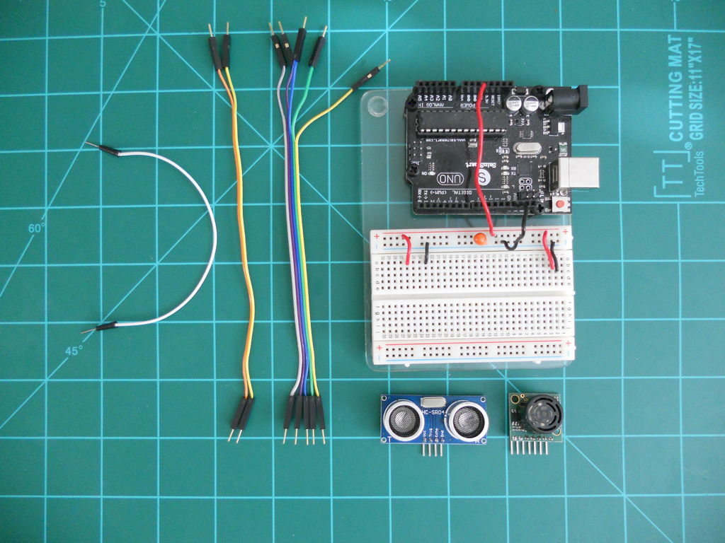 Picture of Comparing LV-MaxSonar-EZ and HC-SR04 Sonar Range Finders With Arduino
