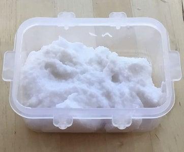 DIY Snow Slime