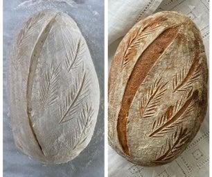 酵母发酵剂和面包