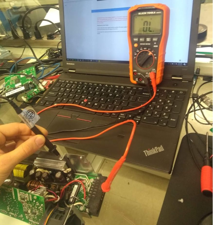 Picture of Modifying the Power Supply — 5