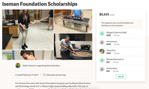Fundraise for Your Scholarship