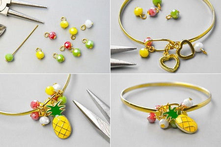 Instructions on How to Make the Bracelet: