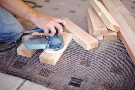 Cut Boards for Top of the Bench