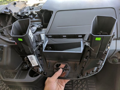 Unplug the Right & Left Vents From the Factory Trim Panel and Keep for Re-installation