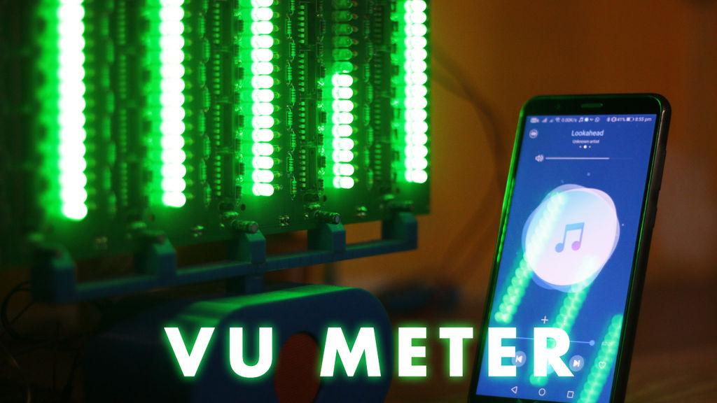 Picture of Audio Spectrum Analyzer (VU Meter)