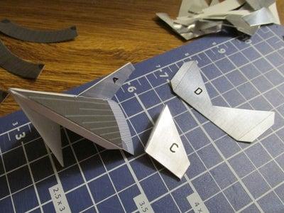 构建涵盖了F1引擎,并且附上引导翅片