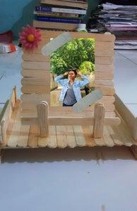 Photo Frame With Sticks
