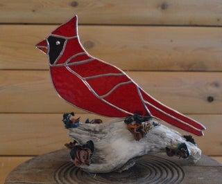 Cardinal Tabletop Adornment