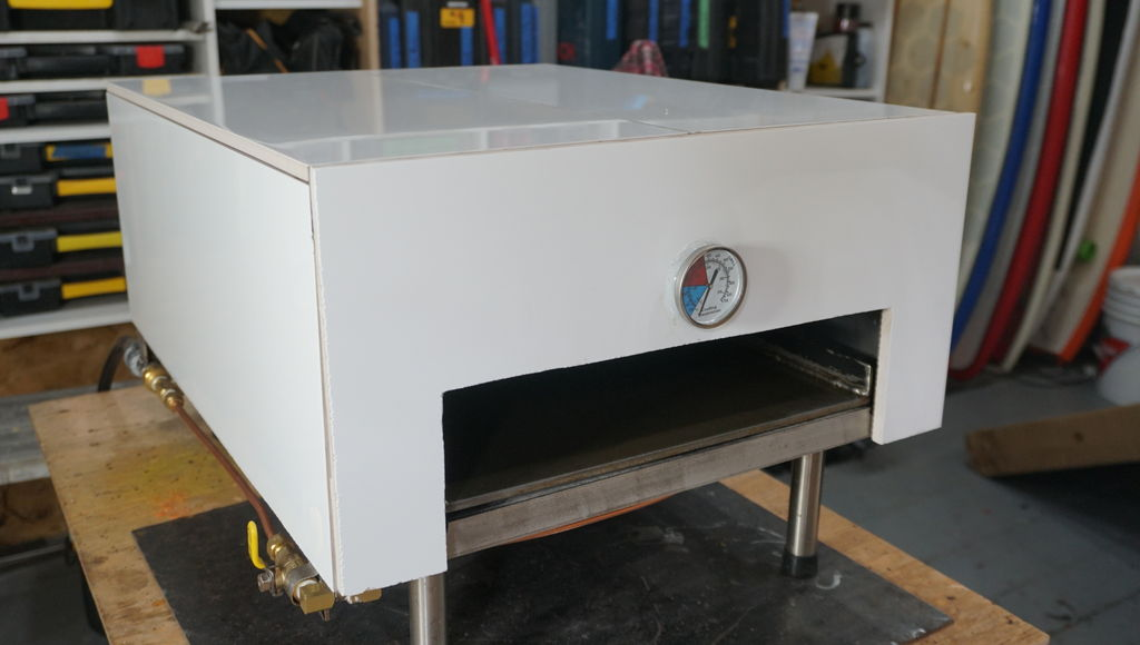 Picture of Portable Propane Pizza Oven Build and Cook