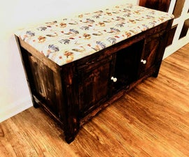 How to Build an Entryway Bench