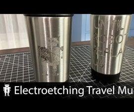 Metal Etching Travel Mugs