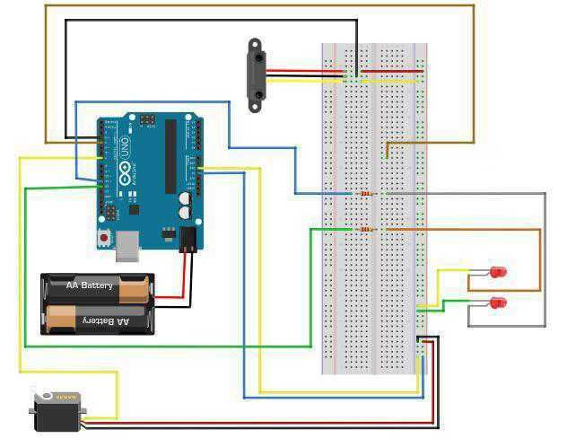 Picture of Create the Circuit: